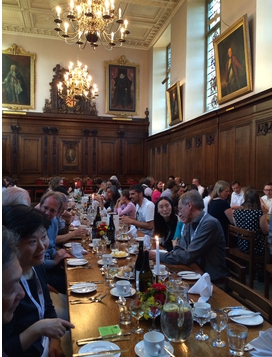 Conference dinner, PaPE 2015