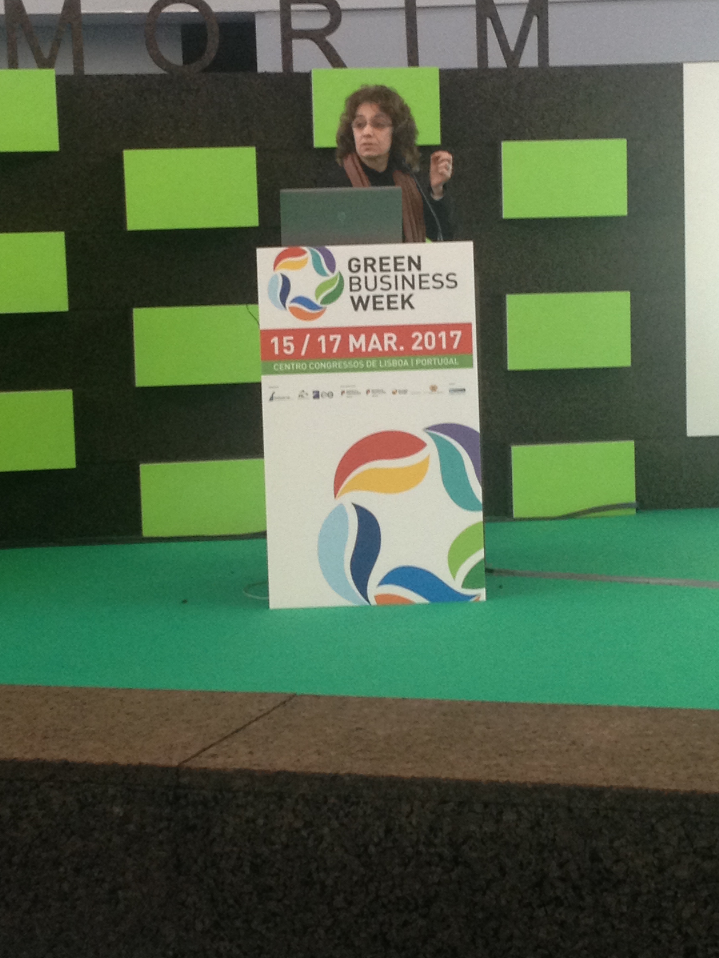 Sónia Frota @ Green Business Week, 2017